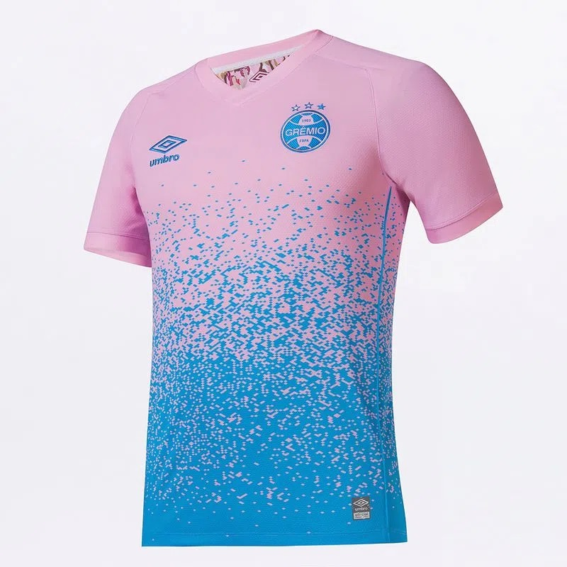 Camisa Umbro Grêmio Outubro Rosa 2021 Masculino
