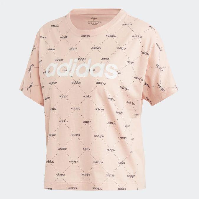 Camiseta Adidas Core Linear Graphic Feminina