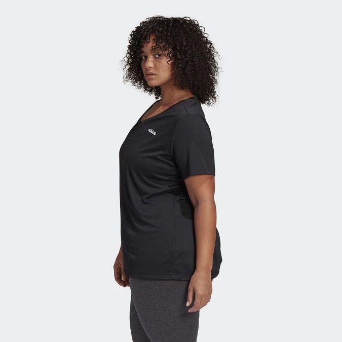 Camiseta Adidas D2M Solid Inclusive Feminina