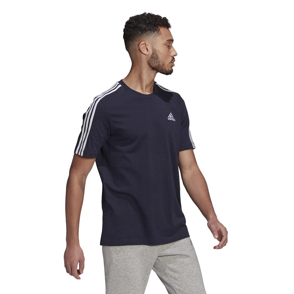 Camiseta Adidas Essentials 3-Stripes