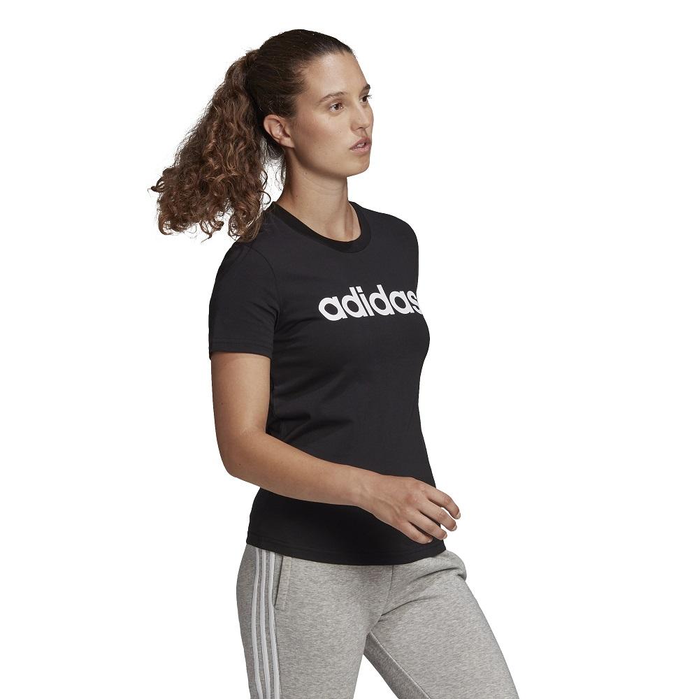 Camiseta Adidas Essentials Slim Logo Feminina