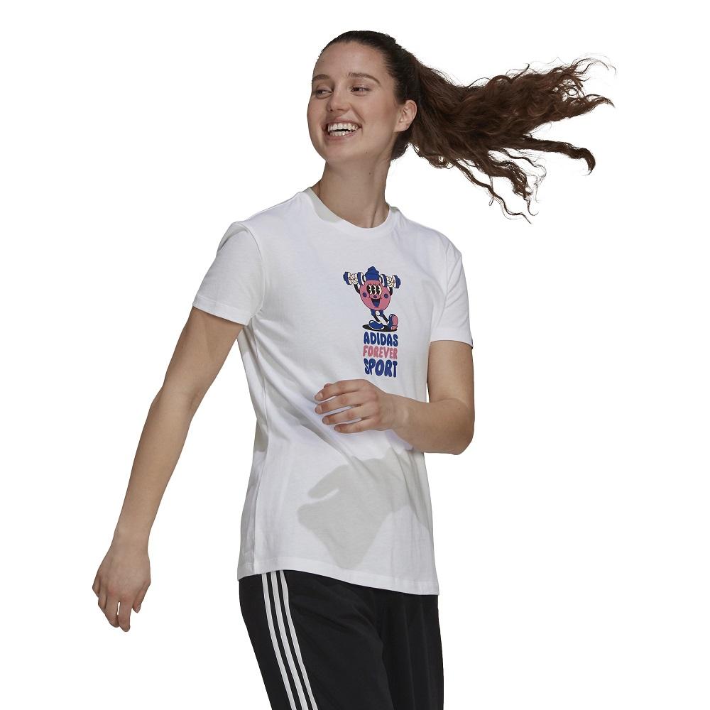 Camiseta Adidas Estampada Artist Forever Sport Feminina