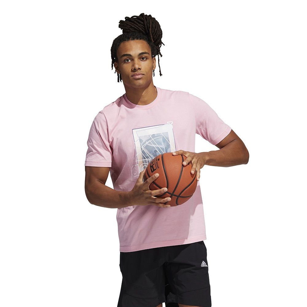 Camiseta Adidas Estampada Throwback Bagde Of Sport
