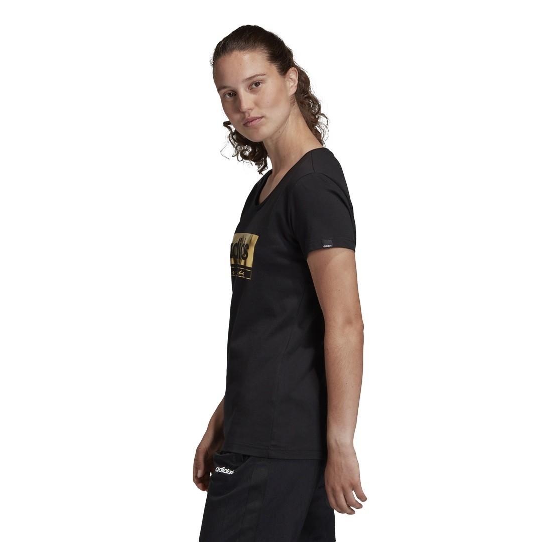 Camiseta Adidas Logo Foil Graphic Feminina