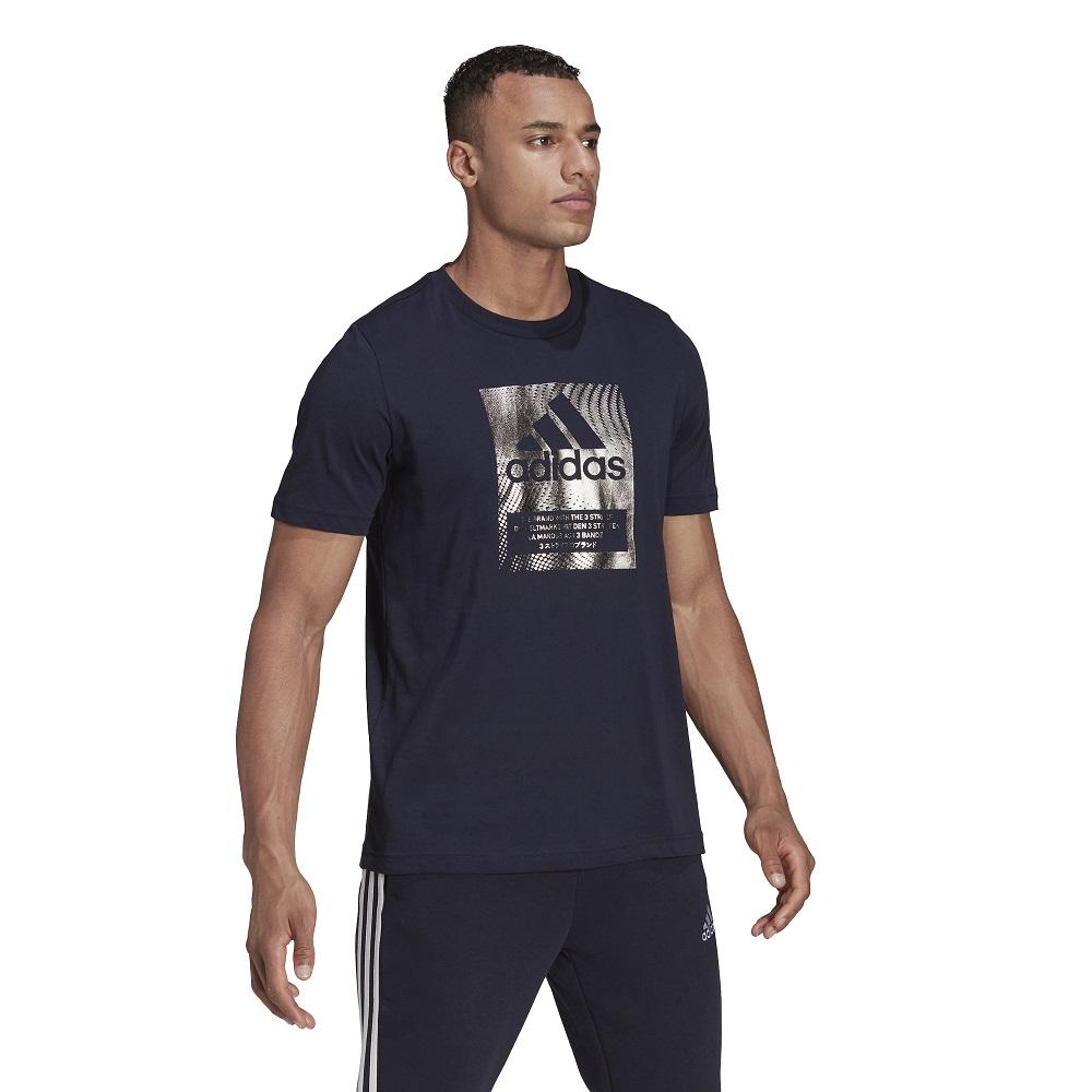 Camiseta Adidas Logo Metalizada Masculina