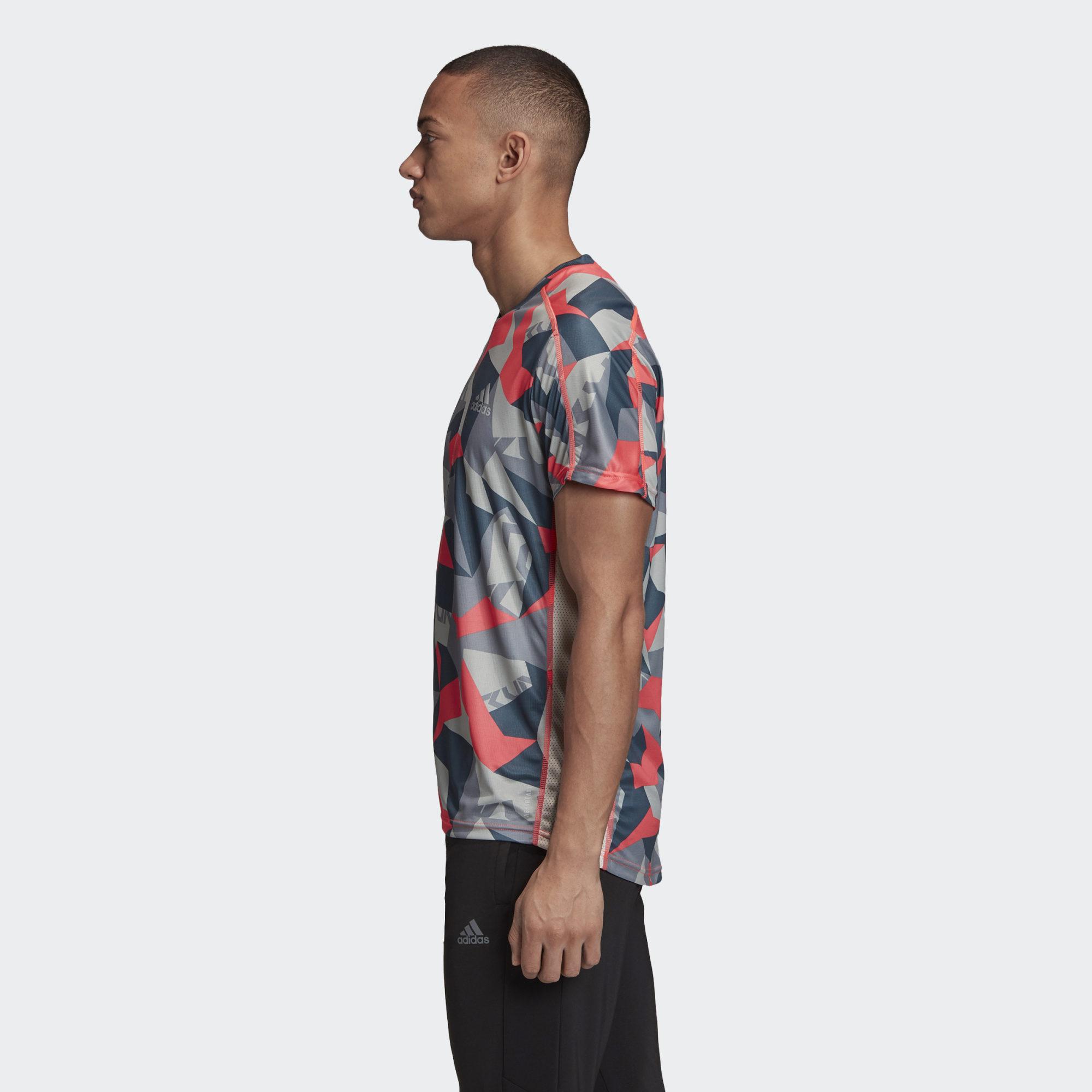 Camiseta Adidas Own The Run Camuflada
