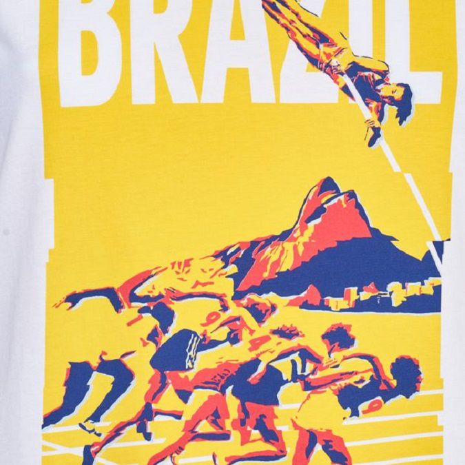 Camiseta Adidas Rio Poster Feminina