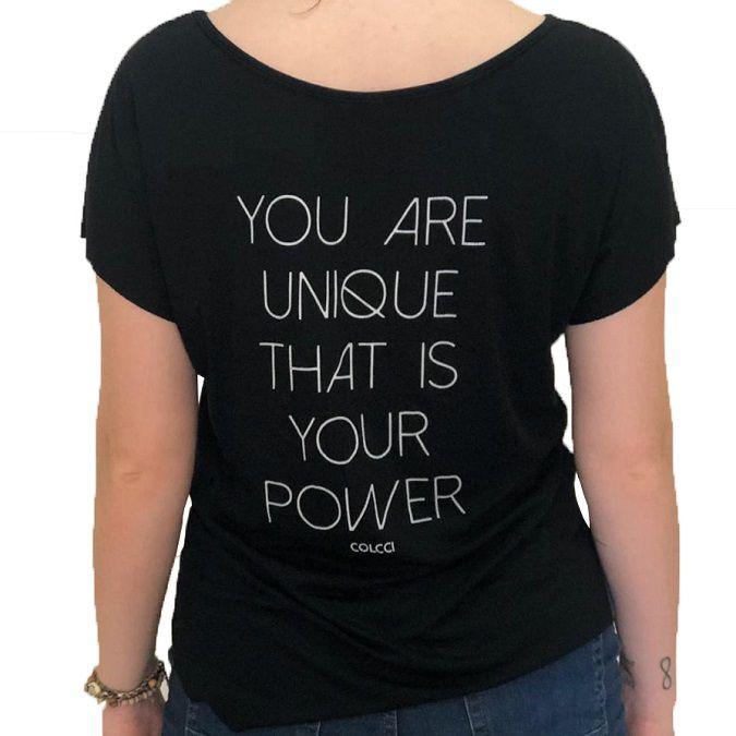 Camiseta Colcci Estampada You Are Unique
