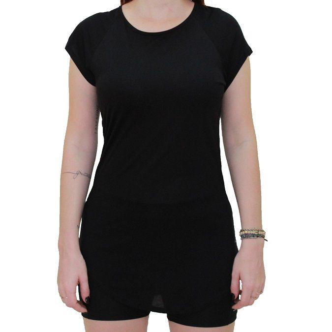 Camiseta Colcci Fitness Alongada Feminina