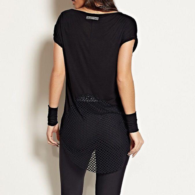 Camiseta Colcci Fitness Estampada Feminina