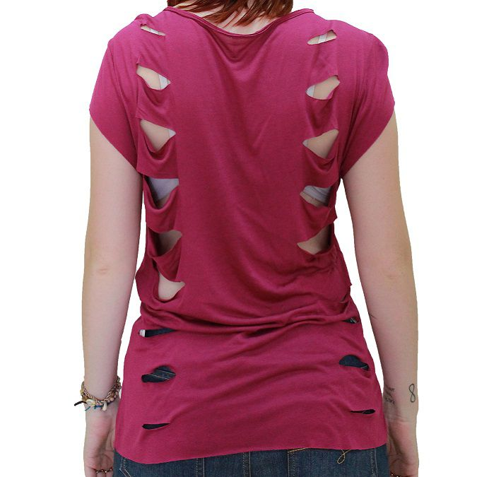 Camiseta Colcci Fitness Recortes Feminina