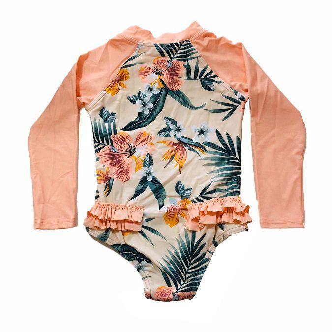 Camiseta de Lycra Rip Curl Mini Coconut Infantil Feminino