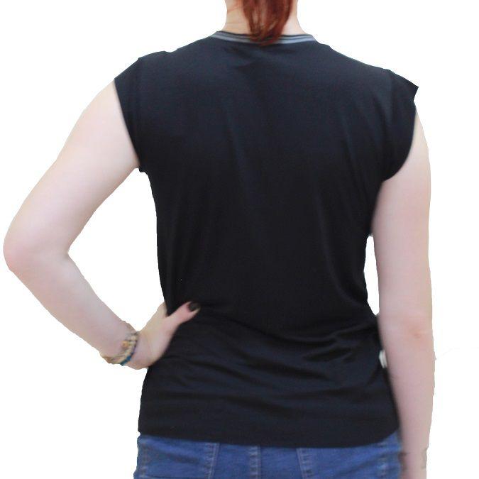 Camiseta Estampada Colcci Gola Retilinea
