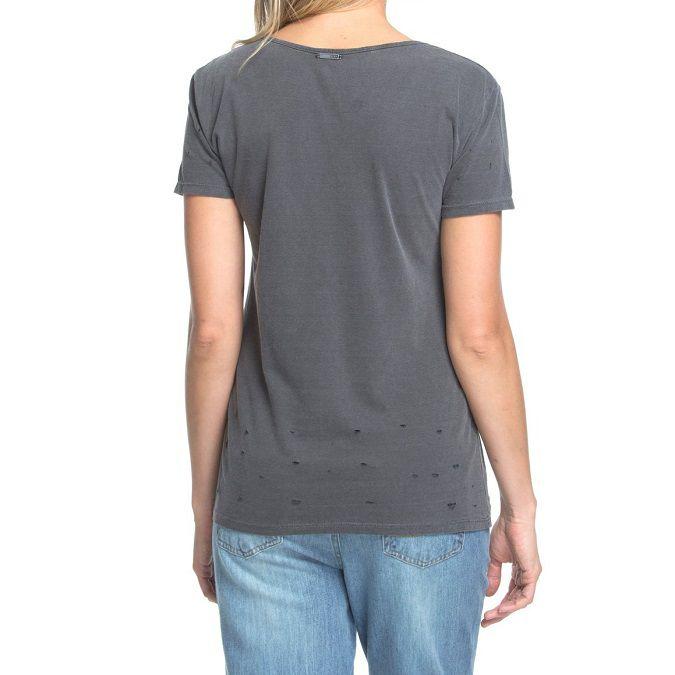 Camiseta Manga Curta Roxy Strappy Helm