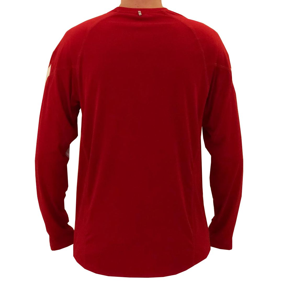 Camiseta Nike Dri Fit Manga Longa Red I