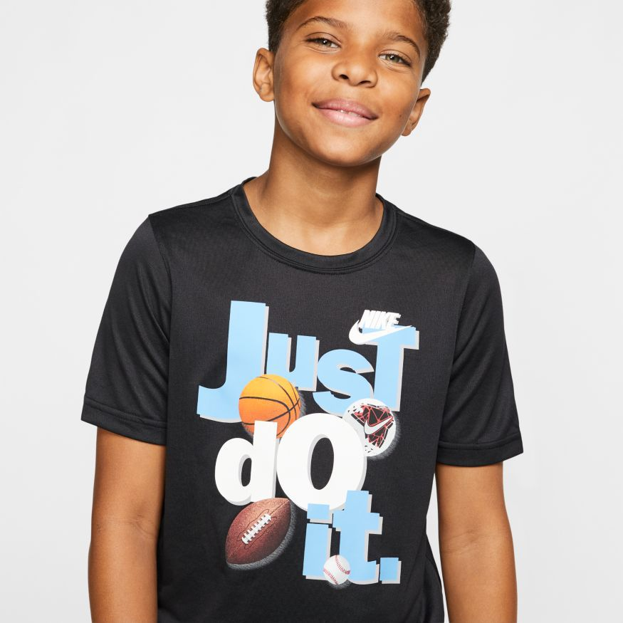 Camiseta Nike Dri Tee Just Do It Infantil