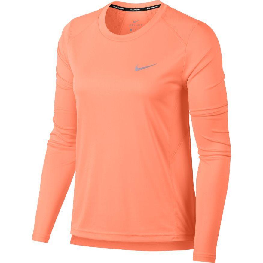 Camiseta Nike Dry Miler Manga Longa Feminina