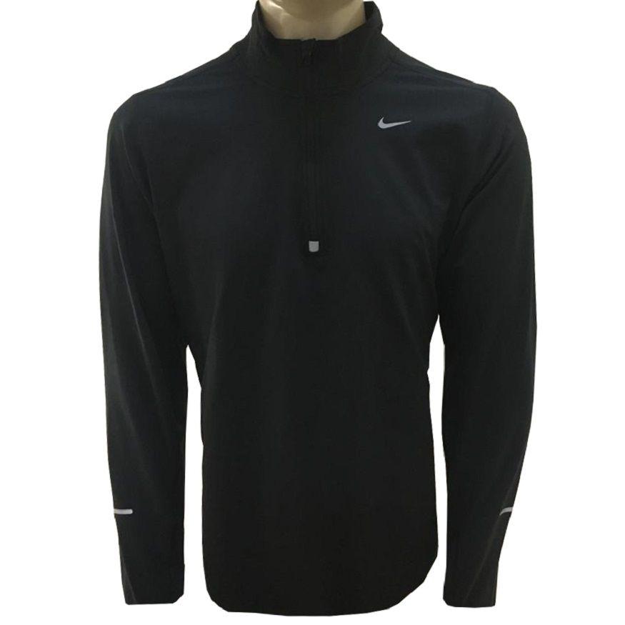 Camiseta Nike Manga Longa Element 1/2 Zip