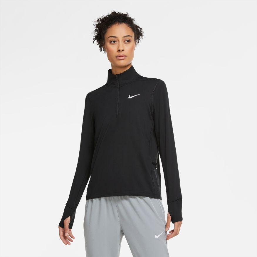 Camiseta Nike Manga longa Element Crew Feminina