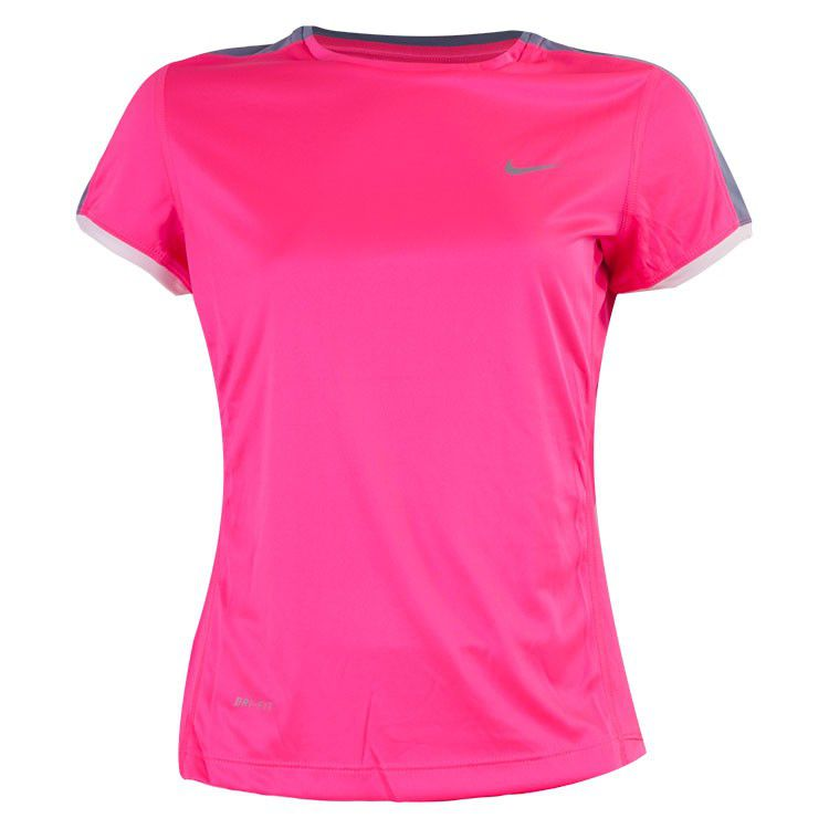 Camiseta Nike Miler Crew Infantil