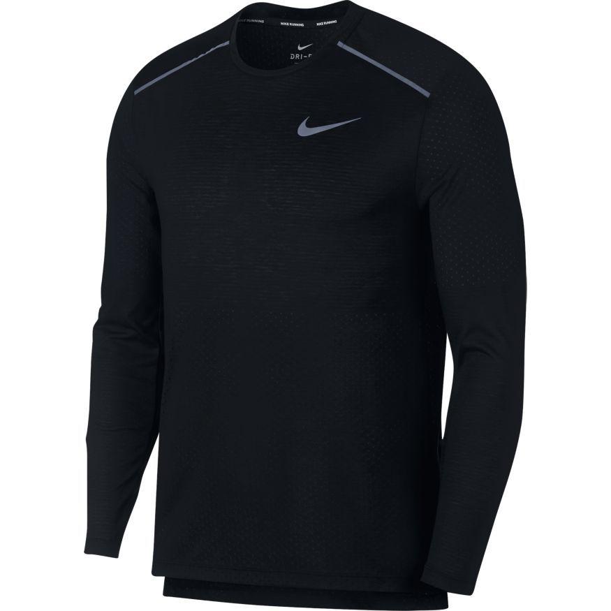 Camiseta Nike Rise 365 Manga Longa de Corrida