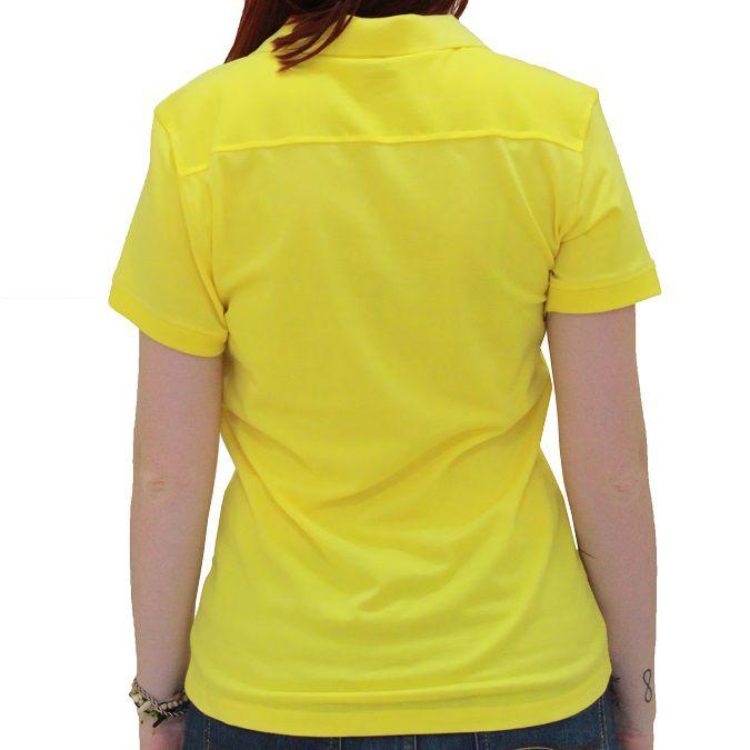 Camiseta Polo Mizuno Galla Feminina