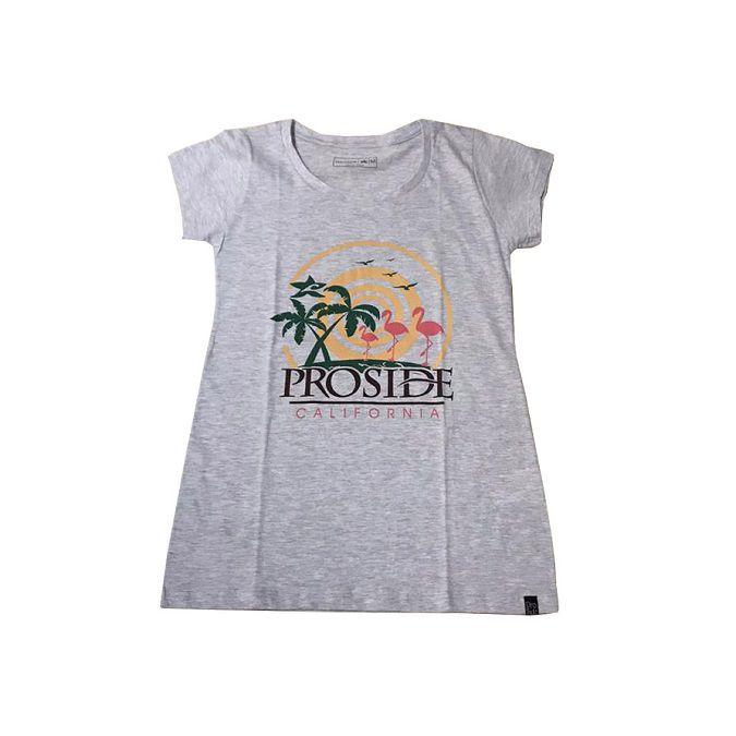 Camiseta Proside Flamingo Feminina
