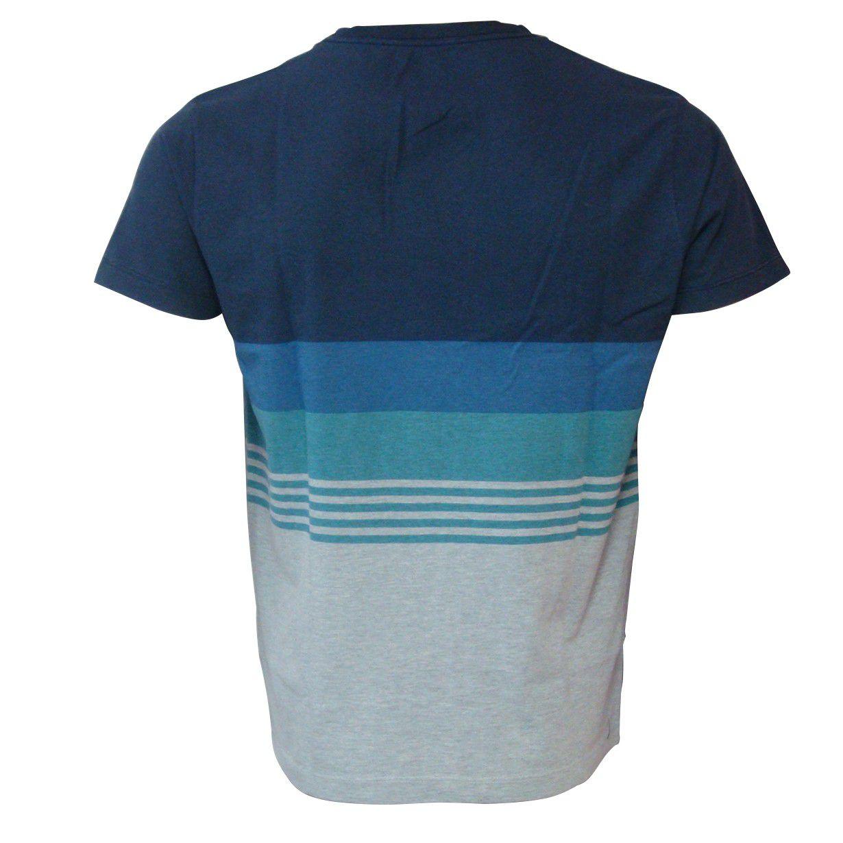Camiseta Quiksilver Stripe Silk
