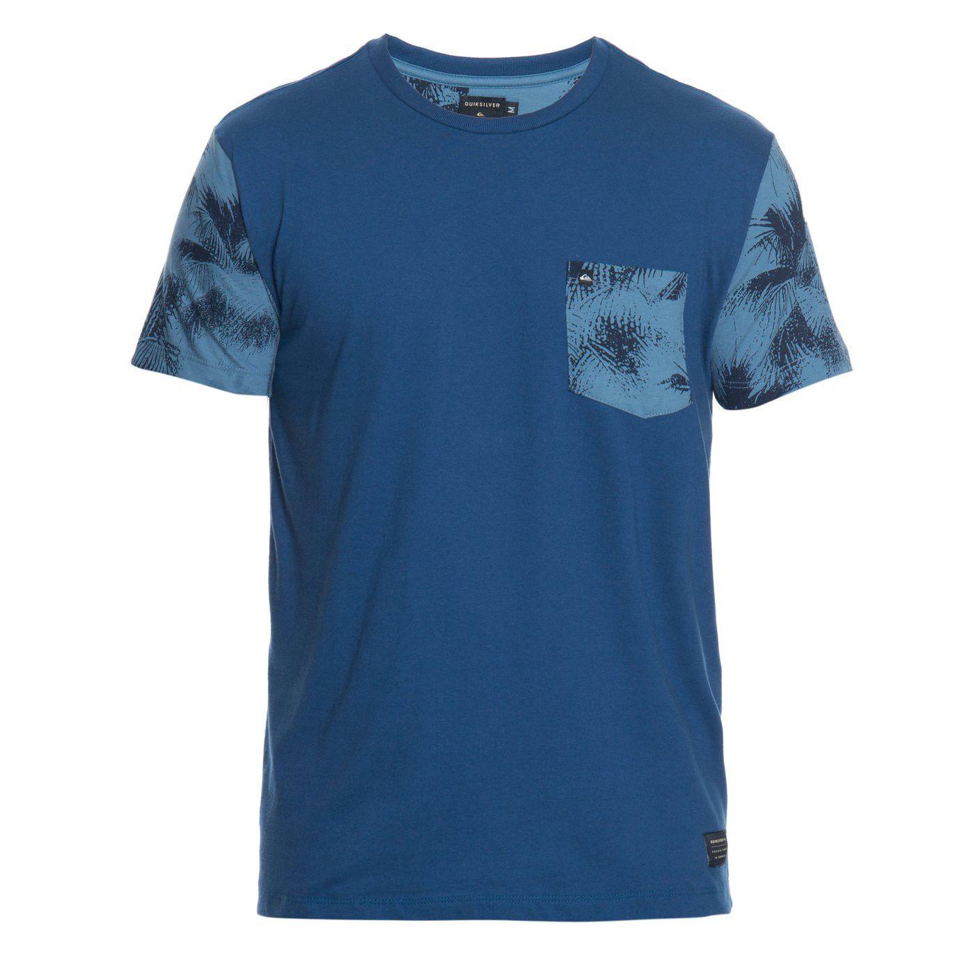 Camiseta Quiksilver Especial Folhagens
