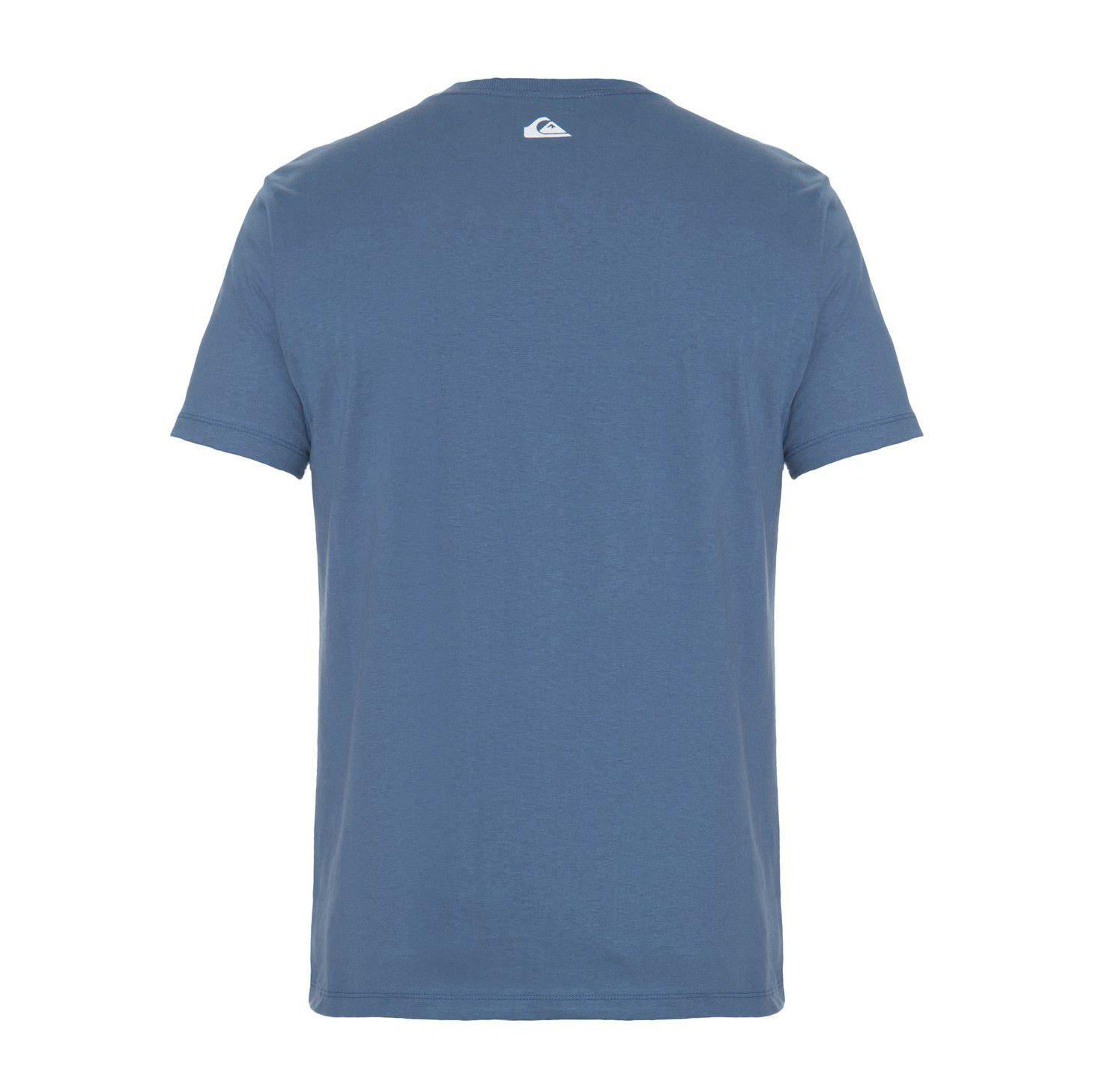 Camiseta Quiksilver Slim Fit Meridian