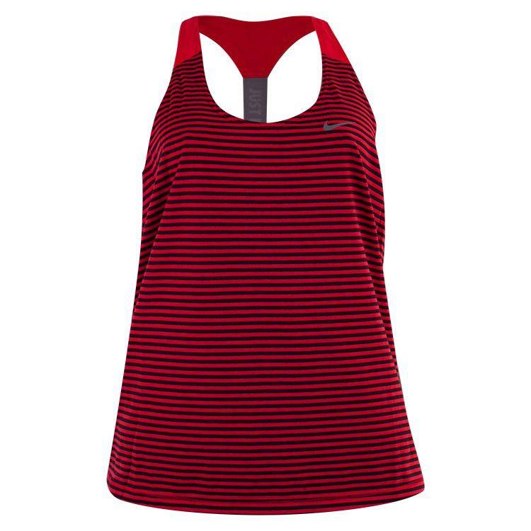 Regata Nike Elastika Stripe Feminina