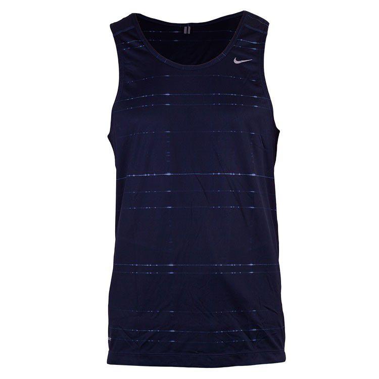 Camiseta Regata Nike Printed Miler Singlet