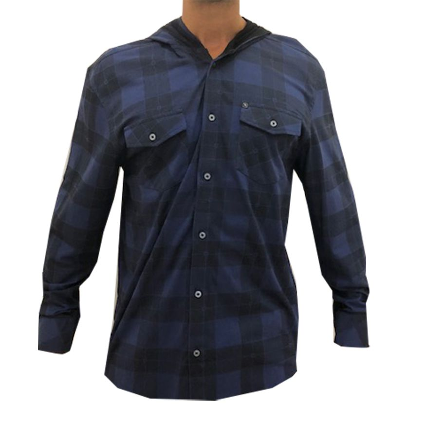 Camiseta Rip Curl Manga Longa Wave Plaid