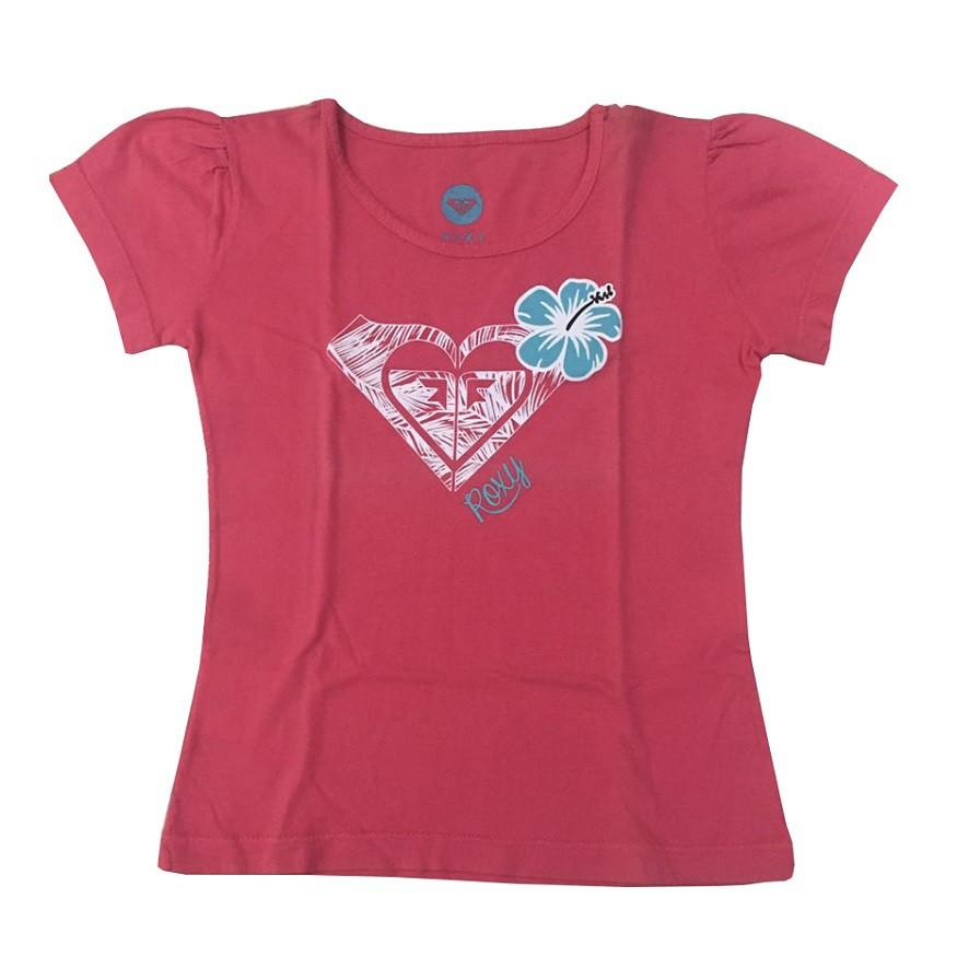 Camiseta Roxy Silk Honolulu Infantil