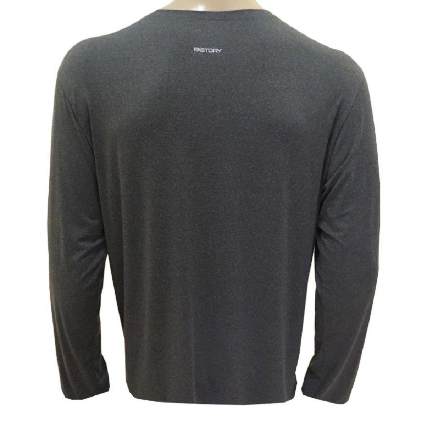 Camiseta Speedo Manga Longa Grey I
