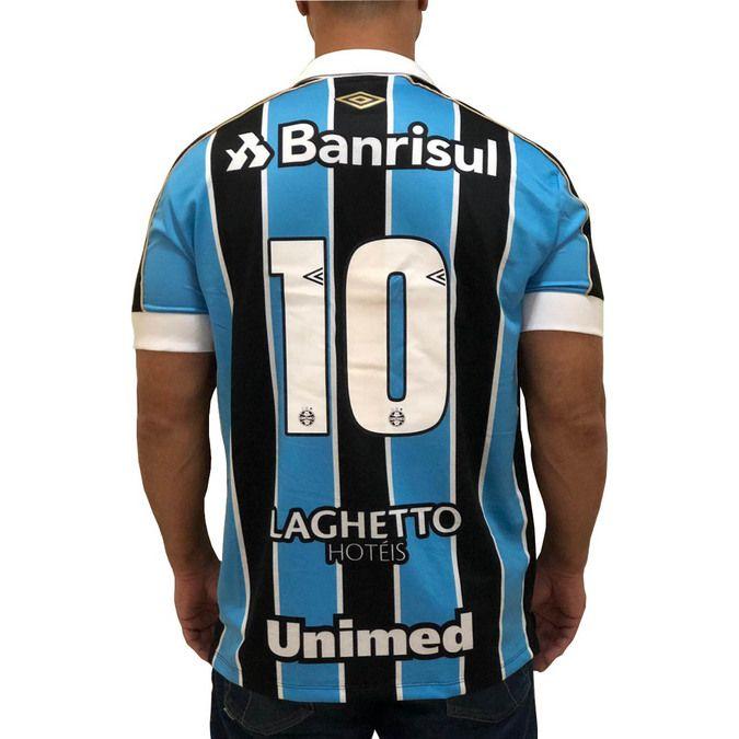 Camiseta Umbro Grêmio Oficial 2019 Atleta