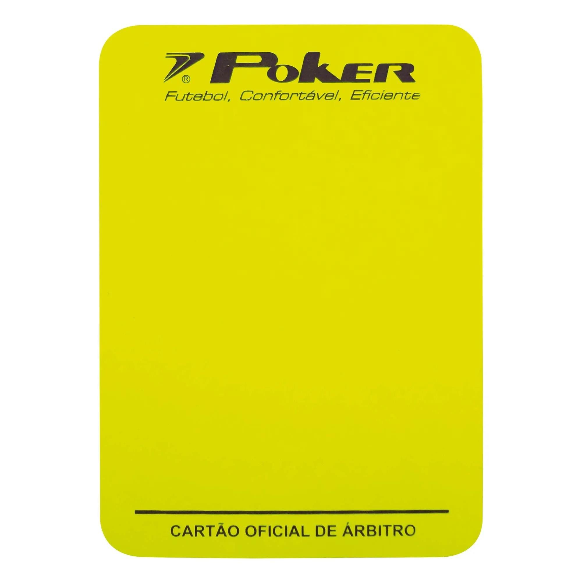 Cartão Campo Arbitro Oficial Poker