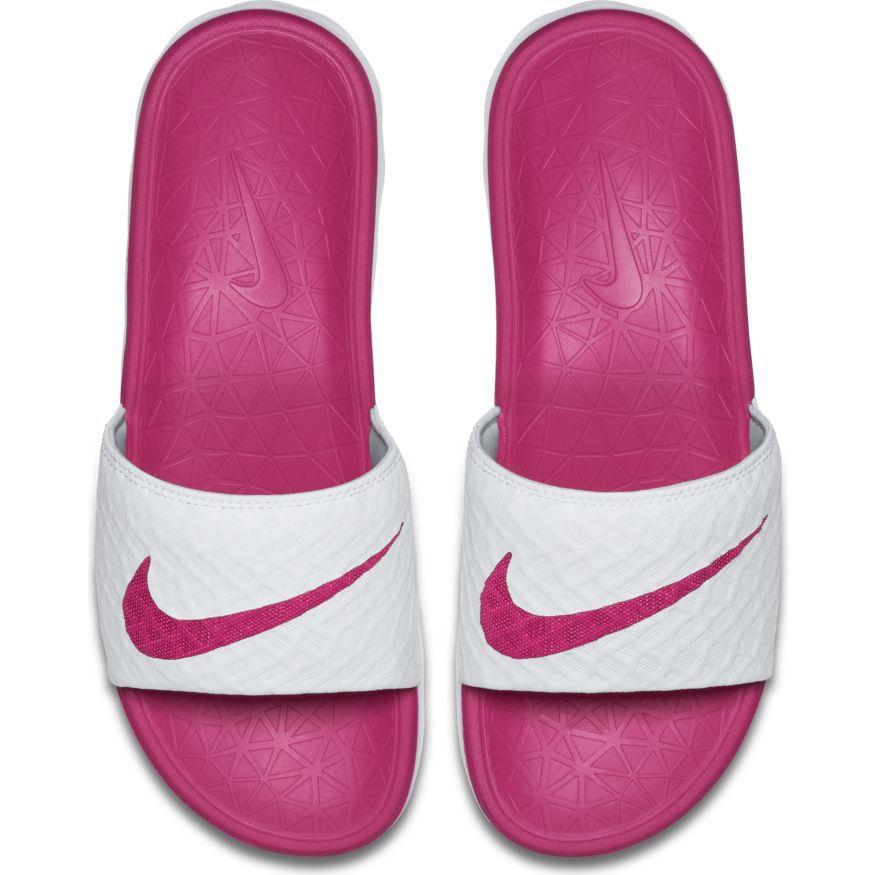 0497cd1122 Chinelo Nike Benassi Solarsoft Slide 2 Feminino Ref 705475-160 ...