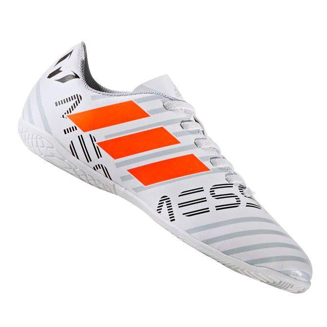 10608d0b5e Chuteira Adidas Nemeziz Messi 17.4 Futsal Infantil - Sportland ...