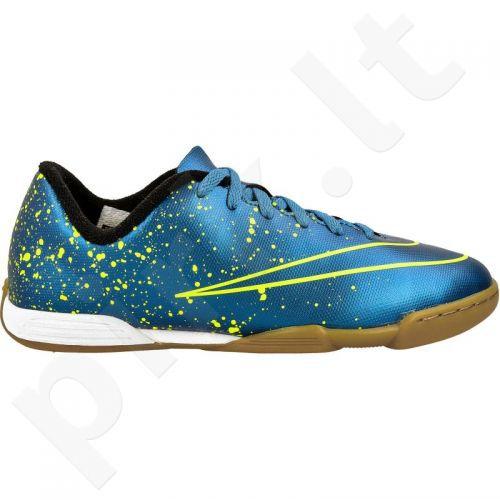 38426b08876b4 Chuteira Futsal Nike Mercurial Vortex II Infantil Ref 651643-440 ...