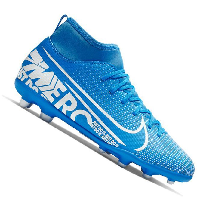Chuteira Nike Mercurial Superfly 7 Club Campo Infantil