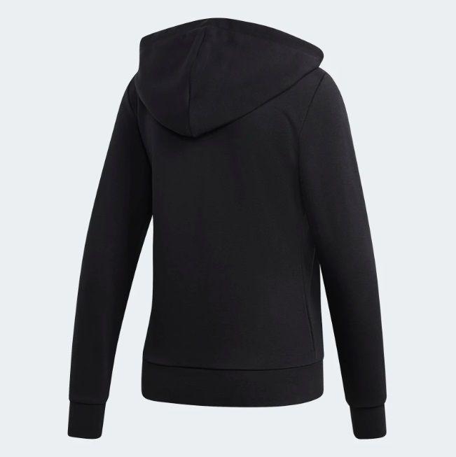 Jaqueta Moletinho Capuz Linear Adidas Essentials
