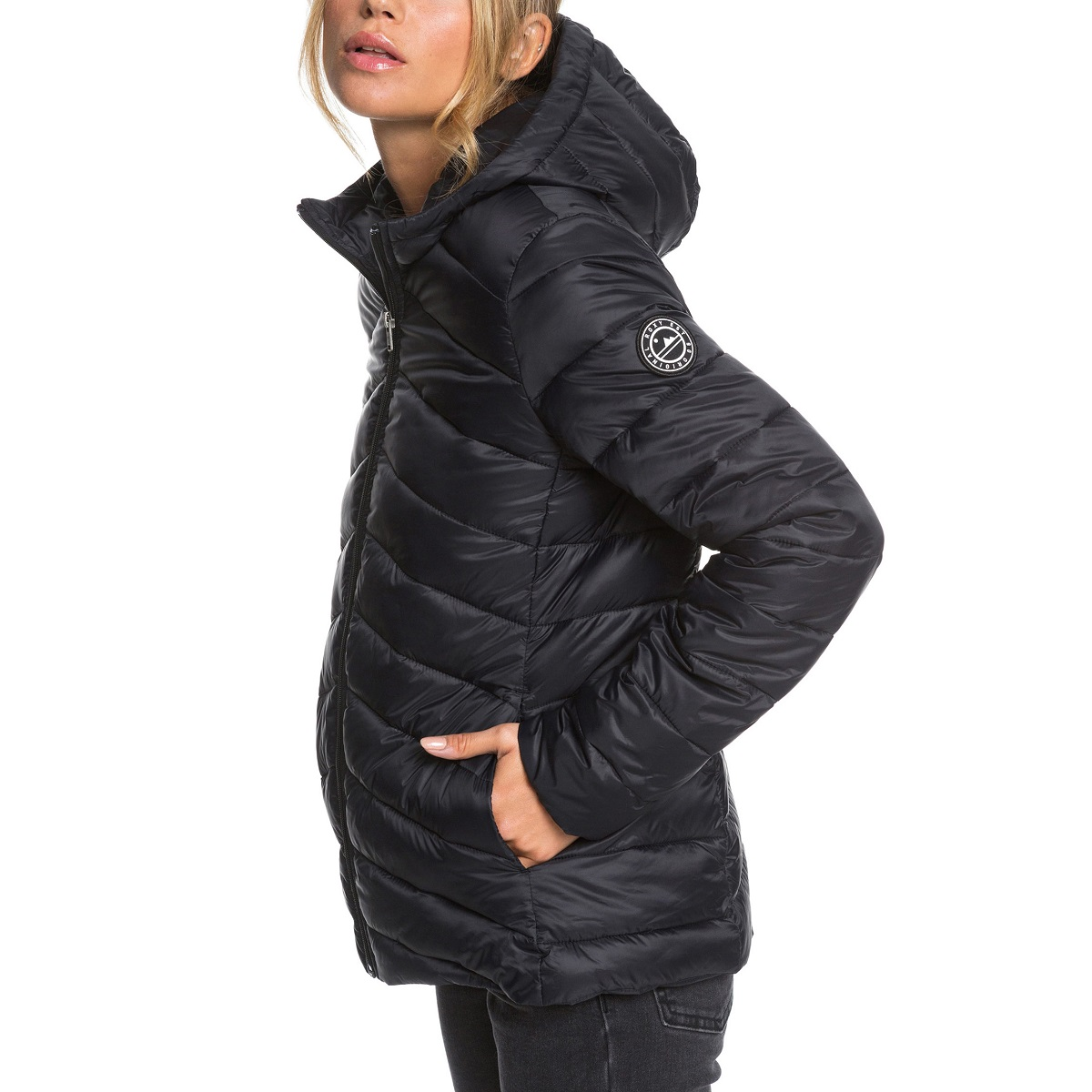Jaqueta Roxy Coast Road Hooded Feminina
