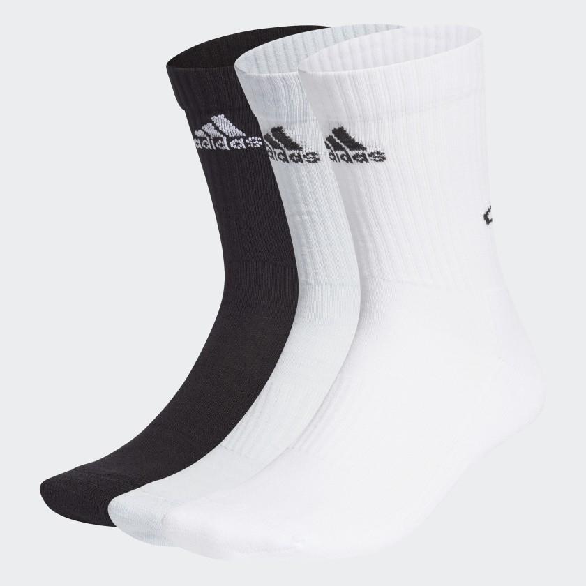 Kit de Meias Adidas Bask8ball 3 Pares Cano Alto