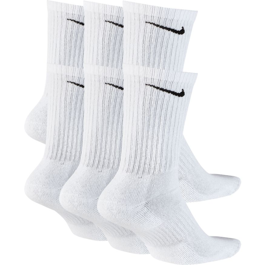 Kit de Meias Nike Everyday Cush Crew 6 Pares
