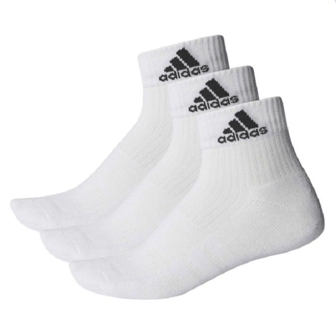 Kit Meia Adidas Ankle Mid Cushion