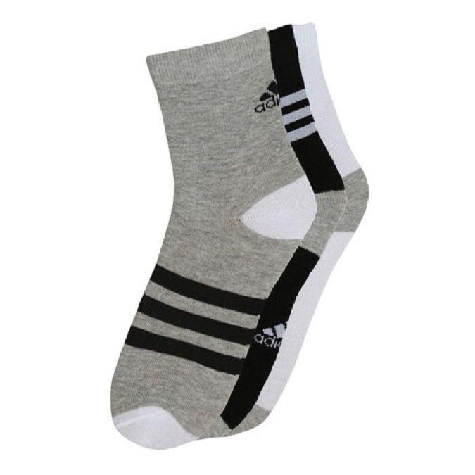 Kit Meia Adidas Ankle Mid Fun Juvenil