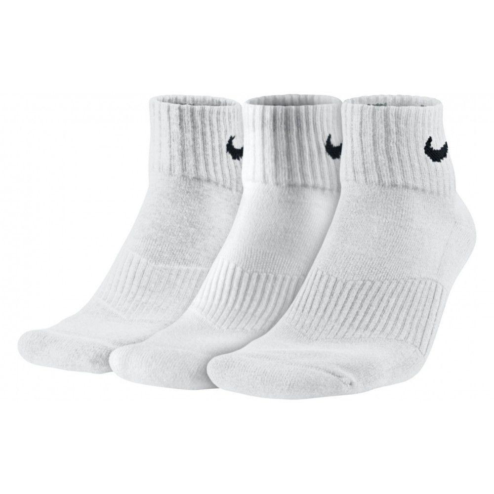 Kit Meia Nike Cotton Cushion Quarter 3 Pares