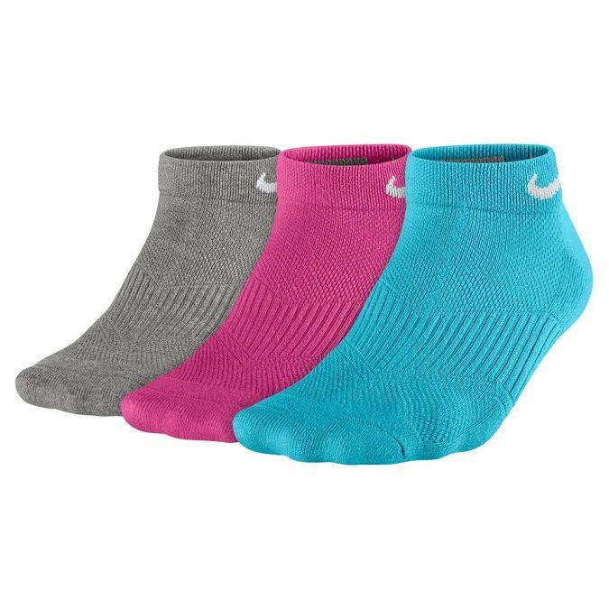 Kit Meia Nike Cushion Low Cut Feminino