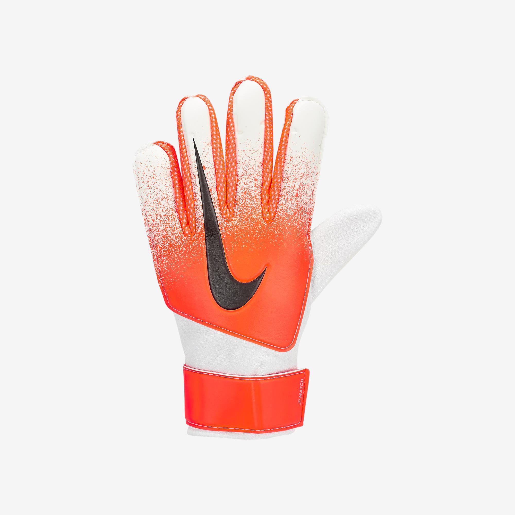 4e3c222d4 Luva de Goleiro Nike Match Infantil Ref GS3371-101 - Sportland